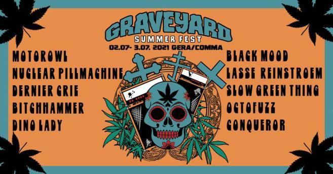 GRAVEYARD SUMMER FEST 2021 - COMMA